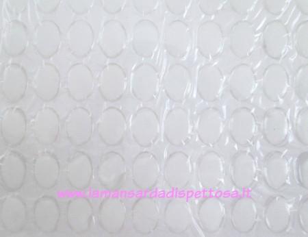 Cupola per cammeo in resina 18x13mm. immagini