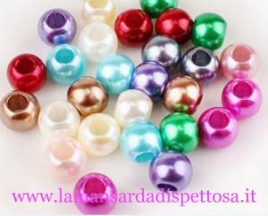 5 perle stile pandora multicolor