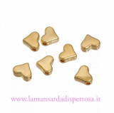 5 perle charms cuore