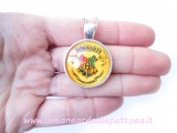 Collana cameo casate Harry Potter