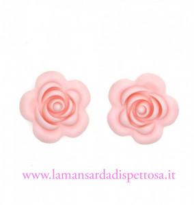 1 perla fiore in silicone