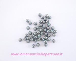 50 perle di fiume 6mm.