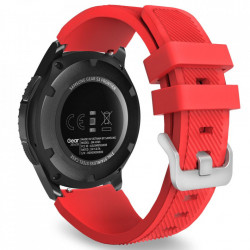 Curea Samsung Galaxy Watch 46MM-Tech Protect Smoothband-Red