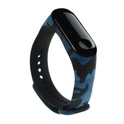 Curea Xiaomi Mi Band 3 - Camouflage blue
