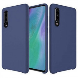 Husa Huawei P30 - Silicone Case Soft Flexible Rubber Cover-Dark Blue