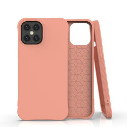 Husa Iphone 12 PRO MAX -Soft Color Case flexible gel-portocalie