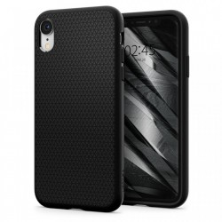 Husa Iphone XR -Spigen Liquid Air- Negru mat