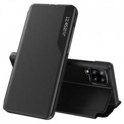 Husa Samsung Galaxy A12 -Eco Leather View Case-Neagra
