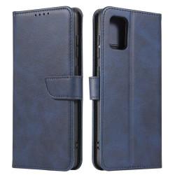 Husa Samsung Galaxy A71-Magnet Case Navy Blue