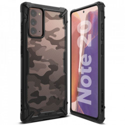 Husa Samsung Galaxy Note 20- Ringke Fusion X- Camo Black