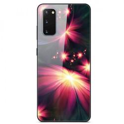 Husa Samsung Galaxy S20- Printing Glass - Flower