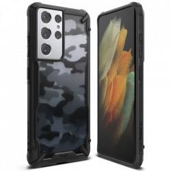 Husa Samsung Galaxy S21 Ultra Ringke Fusion X- Camo Black