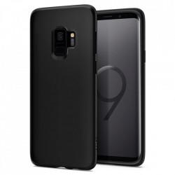 Husa Samsung Galaxy S9 -Spigen Liquid Crystal -Matte Black