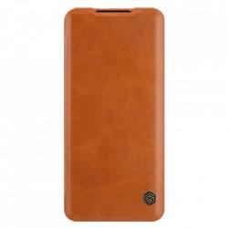 Husa Xiaomi Mi 11 Lite- Nillkin Qin Leather Case Maro