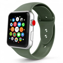Curea Apple Watch 1 38MM-Tech Protect Iconband- Army Green