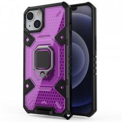 Husa Apple iPhone 13 - Honeycomb Armor- Rose Violet