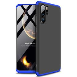 Husa Huawei P30 PRO -GKK -Negru cu albastru