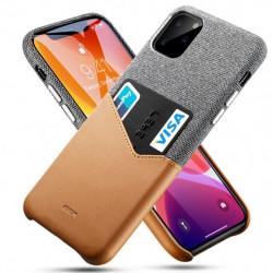 Husa Iphone 11 PRO -ESR Metro Wallet-Maro cu gri