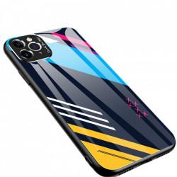 Husa Iphone 11 PRO MAX -Color Glass-cu sticla securizata- pattern 2