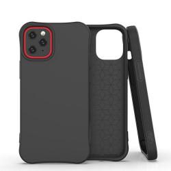 Husa Iphone 12 PRO /Iphone 12 -Soft Color Case flexible gel-neagra