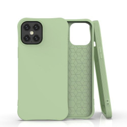 Husa Iphone 12 PRO MAX -Soft Color Case flexible gel-verde