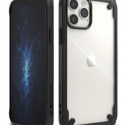 Husa Iphone 12- Ringke Fusion X- Black