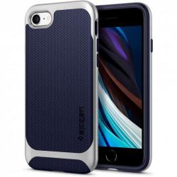 Husa Iphone 7/8/SE 2020 - Spigen Neo Hybrid - Satin Silver