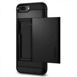 Husa Iphone 8 Plus/Iphone 7 Plus-Spigen Slim Armor CS Neagra