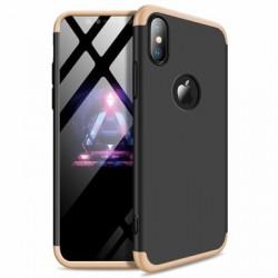 Husa Iphone XR-GKK -Negru cu Auriu