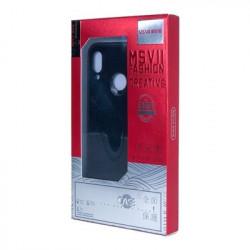 Husa iPhone XS MAX-MSVII Simple ultra-subțire - culoare rosie