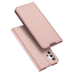 Husa Samsung Galaxy A32-Dux Ducis Skin Pro Bookcase-Roz