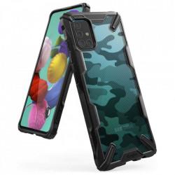 Husa Samsung Galaxy A71 - Ringke Fusion X- Camo Black