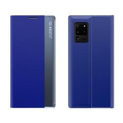 Husa Samsung Galaxy A72 4G/5G -New Sleep Case- Albastra