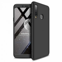 Husa Samsung Galaxy A9 -GKK 360 Front and Back Case Full Body Cover Negru