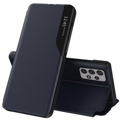 Husa Samsung Galaxy S20 Plus -Eco Leather View Case-Navy Blue