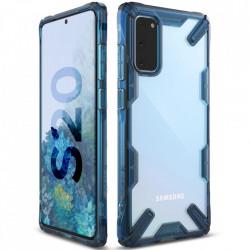 Husa Samsung Galaxy S20- Ringke Fusion X- Space Blue