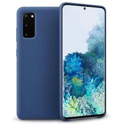 Husa Samsung Galaxy S20- Silicone Case -Albastra