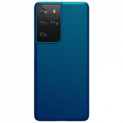 Husa Samsung Galaxy S21 Ultra -Nillkin Super Frosted Shield Case Albastra