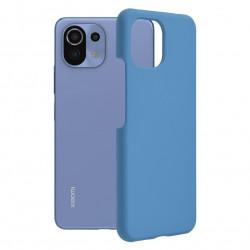 Husa Xiaomi Mi 11 Lite -Soft Edge Silicone Light Blue