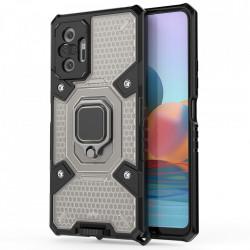 Husa Xiaomi Redmi Note 10 Pro - Honeycomb Armor- Black