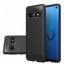 Husa Carbon Series pentru Samsung Galaxy S10 neagra