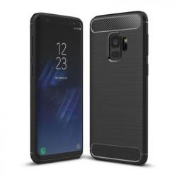 Husa Carbon Series pentru Samsung Galaxy S9 neagra
