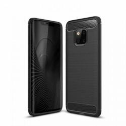 Husa Huawei Mate 20 PRO -Carbon Series-Neagra