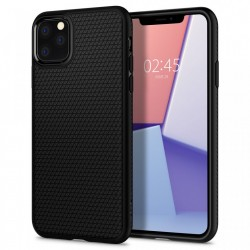 Husa Iphone 11 PRO -Spigen Liquid Air- Negru mat