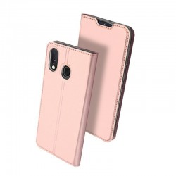 Husa Samsung Galaxy A10 -Dux Ducis Skin Pro Bookcase-Rose Gold