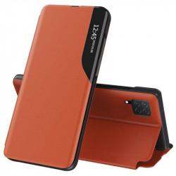 Husa Samsung Galaxy A22 4G-Eco Leather View Case-orange