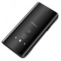 Husa Samsung Galaxy A40 -Clear View Neagra