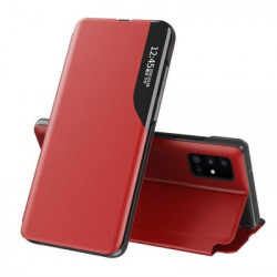 Husa Samsung Galaxy A71-Eco Leather View Case-Red