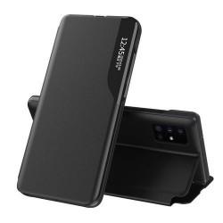Husa Samsung Galaxy Note 20 -Eco Leather View Case- Neagra