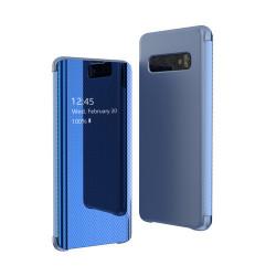 Husa Samsung Galaxy S10-Flip View Albastra